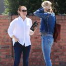 Alyson Hannigan and Leslie Bibb out for lunch in Studio City - 454 x 607