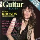Randy Rhoads - Guitar Player Magazine Cover [United States] (November 1982)