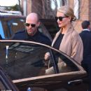 Jason Statham and pregnant Rosie Huntington-Whiteley leave hotel morning after The Fate of the Furious premiere in NYC - 454 x 454