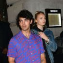 Sophie Turner and Joe Jonas – Leaving Novikov restaurant in Mayfair