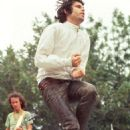 Jim Morrison performing at the Northern California Folk-Rock Festival at Family Park at the Santa Clara County Fairgrounds in San Jose on May 19, 1968 - 454 x 682