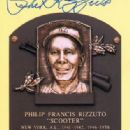 Phil Rizzuto's Hall of Fame Plague