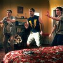 Jason Biggs, Seann William Scott and Eddie Kaye Thomas in Universal's American Pie 2 - 2001