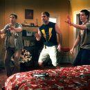 Jason Biggs, Seann William Scott and Eddie Kaye Thomas in Universal's American Pie 2 - 2001