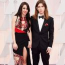 Lorelei Linklater and Justin Jacobs at the Oscars