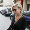 Elsa Pataky Leaving A Restaurant In Madrid
