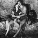 Lex Barker and Brenda Joyce