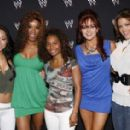 Gail Kim, Alicia Fox, Maria and Eve