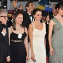 Penelope Cruz, Rebecca Hall, Woody Allen and Soon-Yi  -