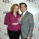 Mary Dimino and Mario Cantone on Red Carpet at 2010 MAC Awards - 378 x 568