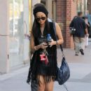 Brenda Song Leaving A Salon In Beverly Hills 13 Oct 2010
