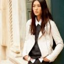 Liu Wen by Terry Richardson for Esprit SS 2013