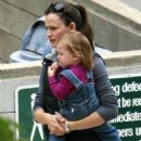 Jennifer Garner And Ben Affleck Take The Family To The Park