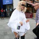 Rita Ora – Leaves Global Radio studios in London