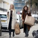 Jenna Louise Coleman and Dianna Agron – Shopping in London - 454 x 499