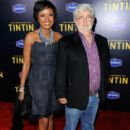 George Lucas and Mellody Hobson - 417 x 594