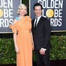 Michelle Williams and Thomas Kail  At The 2020 Golden Globe Awards - Arrivals