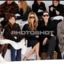 Victoria Beckham and L'Wren Scott attend the Chanel fashion show during Paris Fashion Week (Haute Couture) Spring/Summer 2006 on January 24, 2006 in Paris, France - 454 x 301