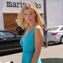 Joanna Krupa Out In Beverly Hills