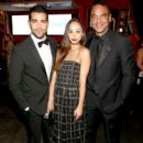 Actors Cara Santana (L) and Jesse Metcalfe at The UNICEF Dia de los Muertos Black & White Masquerade Ball at Hollywood Forever Cemetery benefitting UNICEFÂ's education programs for Syrian children on October 30, 2014 in Los Angeles, California