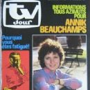 Annik Beauchamps - TV Jour Magazine Cover [Belgium] (18 April 1984)