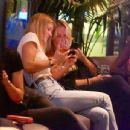 Bar Refaeli in Jeans at a friend's birthday at Kyoto in Herzliya - 454 x 345