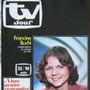 Francine Buchi - TV Jour Magazine Cover [France] (8 August 1977)