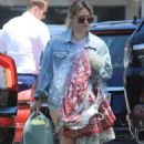 Hilary Duff in Shorts – Out in Los Angeles