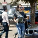 Emma Roberts – In jeans out in Los Angeles