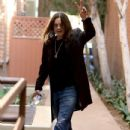 Rocker Ozzy Osbourne stops by a doctors office for a check up in Beverly Hills, California on November 4, 2016 - 434 x 600