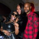 Foxy Brown and Tyson Beckford - 454 x 417