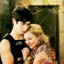 David Henrie and Bridgit Mendler