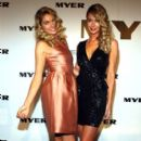 Jennifer Hawkins and Jessica Hart