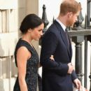 Prince Harry Windsor and Meghan Markle : 25th Anniversary Memorial Service