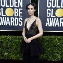 Rooney Mara wears  Givenchy Dress : 77th Annual Golden Globe Awards