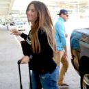 Gaby Espino at LMM airport in San Juan - 454 x 742