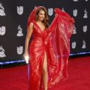 Thalía-  20th Annual Latin GRAMMY Awards - Arrivals - 448 x 600