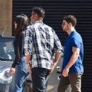 Priyanka Chopra and Nick Jonas – Leaving Nobu in Malibu
