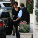Kris Jenner is seen out and about in Los Angeles December 06, 2015