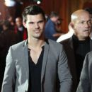 Taylor Lautner attended the 2012 NFL Honors, February 4, at the Murat Theatre in Indianapolis, Indiana