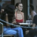 Bella Hadid – Heads to dinner with friends at Barbuto Restaurant in NY