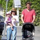 Alyson Denisof - Out For A Stroll With Family In L.A. - July 15, 2010