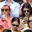Maisie Williams and Diana Silvers – Wimbledon Tennis Championships 2019 in London - 454 x 354
