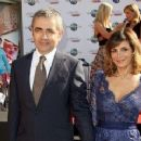 Rowan Atkinson and Sunetra Sastry - 360 x 240