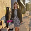 Lori Loughlin – Celebrates her birthday at Craigs in West Hollywood