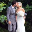Brandon Jenner and Leah Felder's wedding in Hawaii (May 31) - 454 x 591