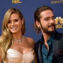 Tom Kaulitz and Heidi Klum : 70th Emmy Awards - 454 x 325