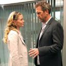 Hugh Laurie and Jennifer Morrison