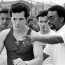 John Leguizamo and Spike Lee on the set of Summer Of Sam