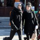 Pete Wentz and Ashlee Simpson at a Costume Shop 3